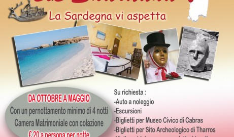 Proposta di convenzione Bed and Breakfast Shardana